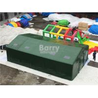Buy cheap Outdoor Large Inflatable Military Tent With Air Pipe / Blow Up Camping Tent from wholesalers