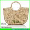 Buy cheap LDYP-027 macrame women hobo handbags cornhusk natural straw beach bag from wholesalers