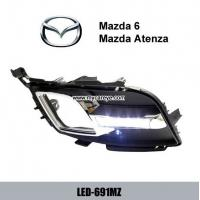 Wholesale MAZDA 6 Atenza DRL LED Daytime driving Lights Car turn signal indicators from china suppliers