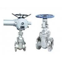 Wholesale Electric Operate Wedge Gate Valve, Metal Valves RF, RTJ, BW, SW, NPT Connection End from china suppliers