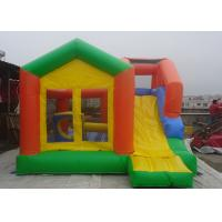 Wholesale Castle Type Inflatable Jumping Castle With Slide For kids Outdoor Amusement Park from china suppliers