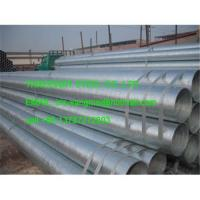 Quality Galvanized Steel Pipe/hot dipped galvanized scaffolding steel tube for sale