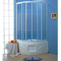 Wholesale Freestanding walk in shower enclosures shower set shower cabin with white tray G358 from china suppliers