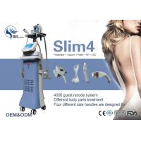 Wholesale Vacuum Suction + RF + Infrared + Massage Roller Body Shaping Machine For Slimming from china suppliers