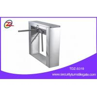 Wholesale Stainless steel pedestrian barrier , semi automatic tripod turnstile with mifare reader from china suppliers