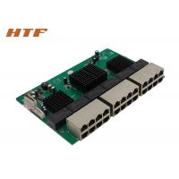 Wholesale Unmanaged Embedded Ethernet Switch Module 24 Port , Network Switch Board 48Gbps from china suppliers