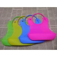 Wholesale BPA Free Durable Safe FDA Soft Baby Bibs Over 3 Years Use Life from china suppliers