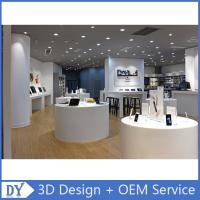 Buy cheap Customized design store display furniture,mobile phone store furniture with shop counter design from wholesalers
