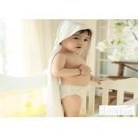 Wholesale Hypoallergenic Plush Customized Baby Hooded Towels Naturally Organic 90 * 90cm from china suppliers