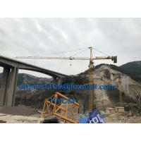 Buy cheap New TC6513 Hammer Head Tower Crane with Jib 65m Tipe Load 1.3t Max.load 8t from wholesalers