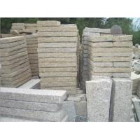 Wholesale Light Yellow Lanscaping & Edging Granite Curbstones for Garden from china suppliers