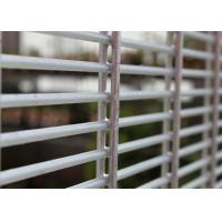Wholesale Powder Spray 4mm wire diameter ClearVu 358 mesh fence from china suppliers