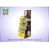 Wholesale Eco Promotion Advertisement Display Stands , Cardboard Store Display For Shampoo from china suppliers