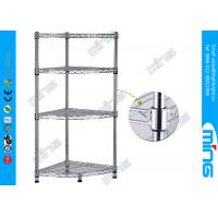Wholesale Carbon Steel Mobile Wire Shelving with with Four Shelves for Garages from china suppliers