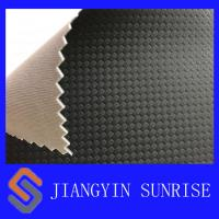 Wholesale Car Seats Semi PU Faux Leather Upholstery Fabric / Embossed Leather Fabric from china suppliers