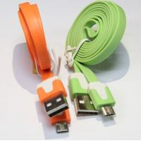 Quality 1 Meter Micro USB cable multi-color optional with CE RoHS ISO9001:2008 for sale