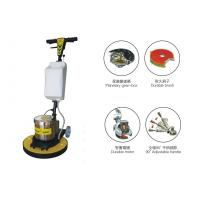 Quality Multifunction Handheld Single Disc Floor Scrubber / wooden , tile , granite floor grinder for sale