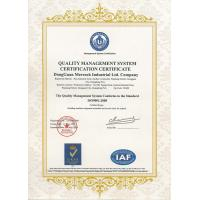 Dongguan Merrock Industry Co.,Ltd Certifications