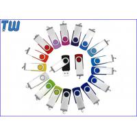 Wholesale Classic Twister 1GB Pen Drive Swivel Thumb Drive Device Free Logo Printing from china suppliers