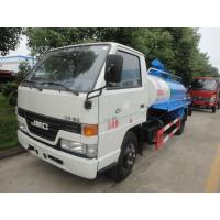 Quality Ffactory sale best price 4 tons JMC fecal vacuum suction truck, cheaper JAC brand 5m3 fecal suction truck for sale for sale
