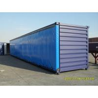 Wholesale Waterproof Vinyl polyester tarpaulin side curtain / blue dump truck tarps 20x20 from china suppliers