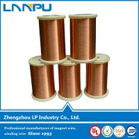 Buy cheap Manufacturing high conductivity Copper coated aluminium wire from wholesalers