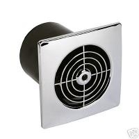"Wholesale ABS small size 4"" bathroom window mounted fan(APB-25) from china suppliers"