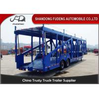 Wholesale Customized Skeleton Shape Car Carrier Trailer 2 Axle Carbon Steel Material from china suppliers