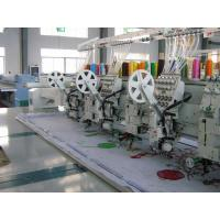 Wholesale 8'' Monitor Computer Controlled Embroidery Machine For Flat / Coiling / Sequin from china suppliers