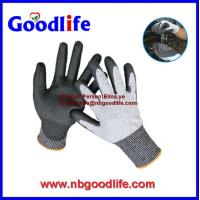Wholesale Foam nitrile cut resistant gloves with UMW PE Fiber shell from china suppliers