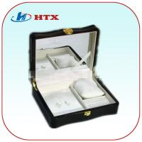 Wholesale Luxury Lacquered Wooden Box for Jewelry with Mirror and Velvet and Pillow from china suppliers