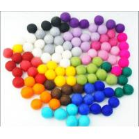 Wholesale high quality factory price multi-colored christmas felt ball garland from china suppliers