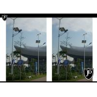 Wholesale 60W Solar Wind Hybrid Street Light For Communication Base / Camera Monitoring from china suppliers