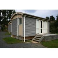 Wholesale Anti - Rusted Steel Frame Modular Cottage for Vacation - Container Chalet from china suppliers