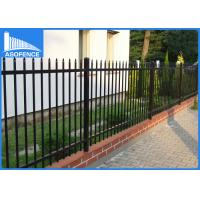 Wholesale Heavy Duty Diplomat Spear Top Fence For Private Grounds  2400 X 2100mm from china suppliers