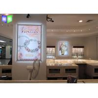 Quality Thin Aluminum LED Light Box Display , LED Sign Light Box Transparent Acrylic Frame for sale