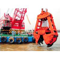Quality 10m3 Clamshell River Sand Dredger Machine With Electromagnetic Brake for sale