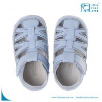 Wholesale soft sole leather baby shoe sandals BB-31002BL from china suppliers