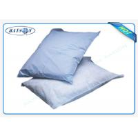 Wholesale Printed Logo Airline Non woven Pillow Cover / Headrest Cover OEM from china suppliers