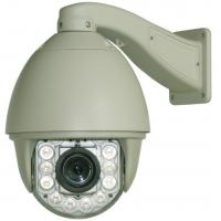 Wholesale IP66 Intelligent Analog Speed Dome Camera AC / 24V 2A Zoom 23x Optical ,10x Digital from china suppliers