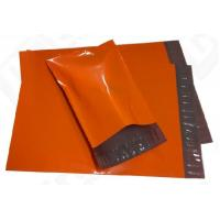 Printing Packaging Poly Bags , Purple Plastic Poly Mailer Bag