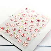 Wholesale 3D flower Nail decal Nail Art Decals for fingers with Smooth nail surface from china suppliers