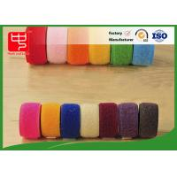Wholesale Double sided hook and loop tape 10 ~ 50mm nylon mix polyester / nylon hook and loop from china suppliers