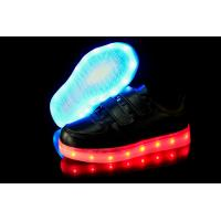 Wholesale PU USB Charge Flat LED Light up Shoes for Men from china suppliers