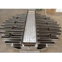 Wholesale Metal Tower Internals Two Stage Trough Type Liquid Distributor from china suppliers