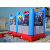 Wholesale Superman inflatable bouncer and slide comb for kid , outdoor inflatable amusement park for sale from china suppliers