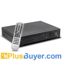 Wholesale Dual-Stream - 8 Channel DVR (500GB HDD, H.264, Motion & Alarm Detect) from china suppliers