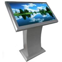 Wholesale Indoor Aluminiun LCD Advertising Player , Floor Standing Digital Signage from china suppliers