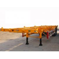 Wholesale 40 Feet-2 Alxes-Sleletal Container Semi-Trailer from china suppliers