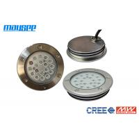 Wholesale High Performance Silver White LED Swimming Pool Lights Inground 18W / 54W from china suppliers